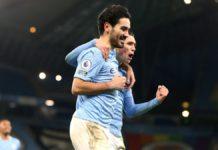 Ilkay Gundogan of Manchester City celebrates Image credit: Getty Images