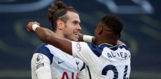 Tottenham Hotspur's Welsh striker Gareth Bale (L Image credit: Getty Images