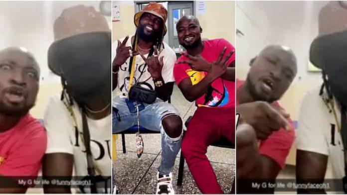 Emmanuel Adebayor and Funny Face