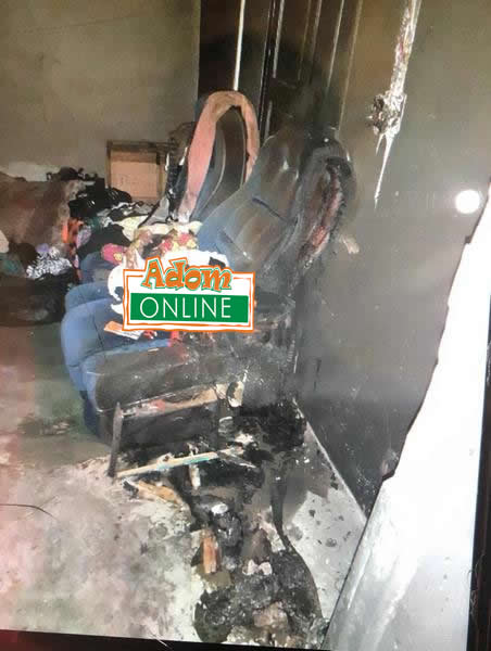 Boyfriend sets lover ablaze; two others in Dormaa Ahenkro