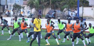 CK Akonnor lead players to train