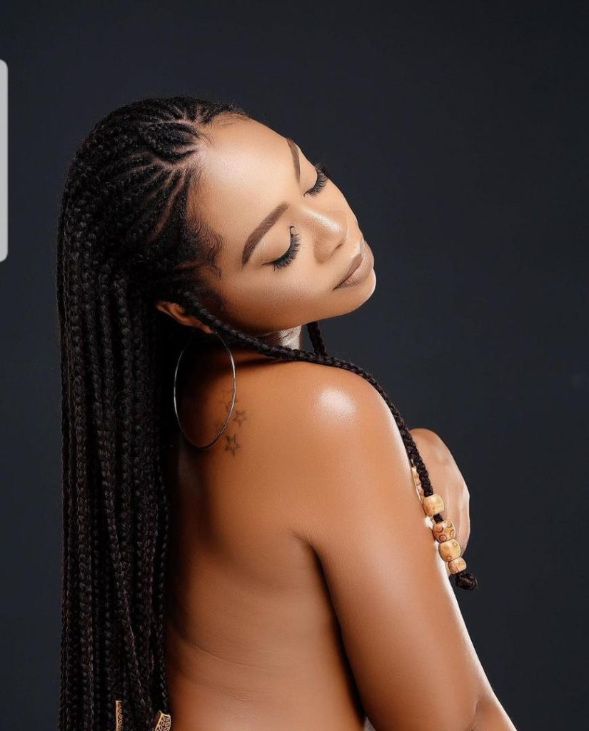 Fans drool as Michy goes topless in latest photo 7