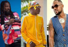 File photo: Samini, Shatta Wale and Yaa Pono aka Ponobiom