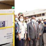 Covid-19 vaccines arrive in Ghana