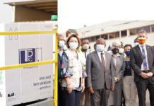 Covid-19 vaccines arrive in Ghana