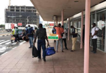 Passengers stranded at Airport as staff withdraw services