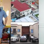 Kwadwo Sarfo Jnr and some of his luxurious property
