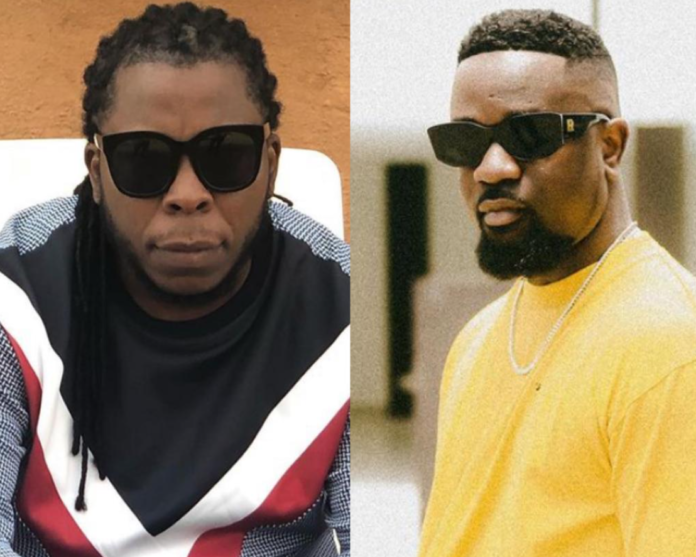 L-R: Edem and Sarkodie