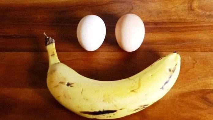 5 food that makes you last longer in bed (Banana and eggs)