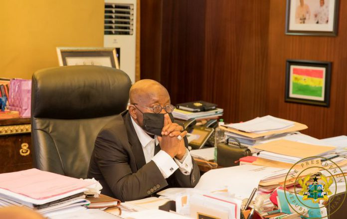 Election petition: Akufo Addo's mood in his office
