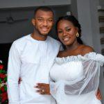 Selasie and Akua Mensah (Slyvester Mensah's son weds)