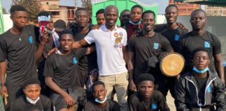 Former Villa player and current youth coach George Boateng visited the village last year and wants to host them at stadium