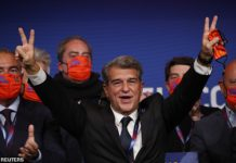 Joan Laporta Image credit: Getty Images