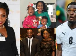 michael essien and family
