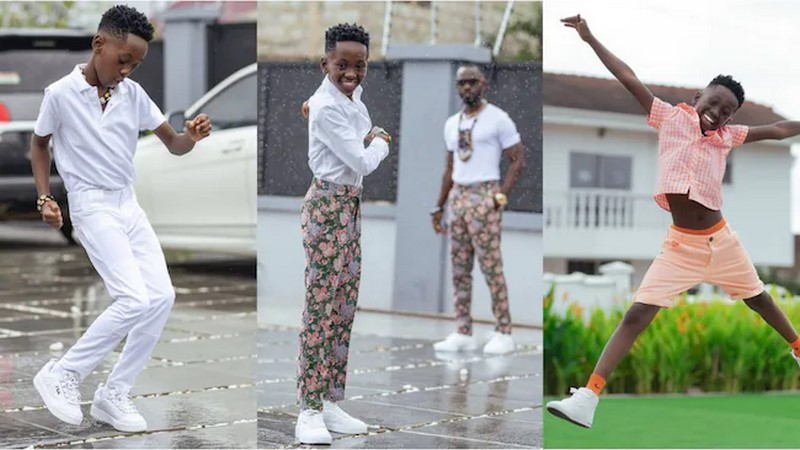 Okyeame Kwame's son shocks Ghanaians with rapping skills [Video] 4