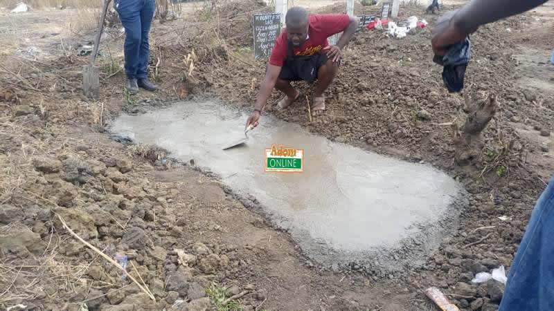 Apam drowning burial