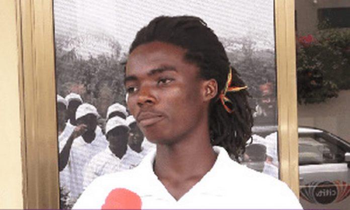 Tyrone Iras Marhguy was denied enrollment at Achimota shool
