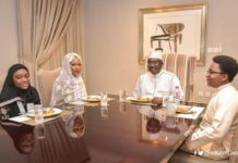 Bawumia and his lovely family