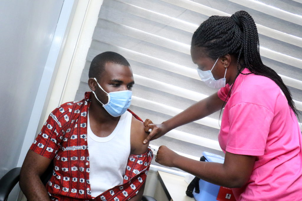 Staff of The Multimedia Group receive COVID-19 vaccine [Photos] 65
