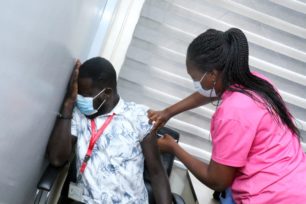 Staff of The Multimedia Group receive COVID-19 vaccine [Photos] 67
