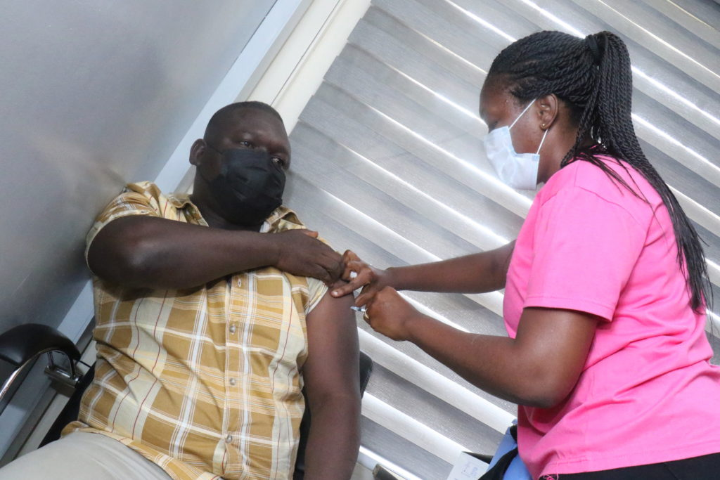 Staff of The Multimedia Group receive COVID-19 vaccine [Photos] 68