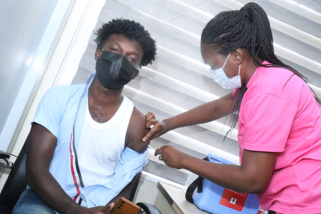 Staff of The Multimedia Group receive COVID-19 vaccine [Photos] 62