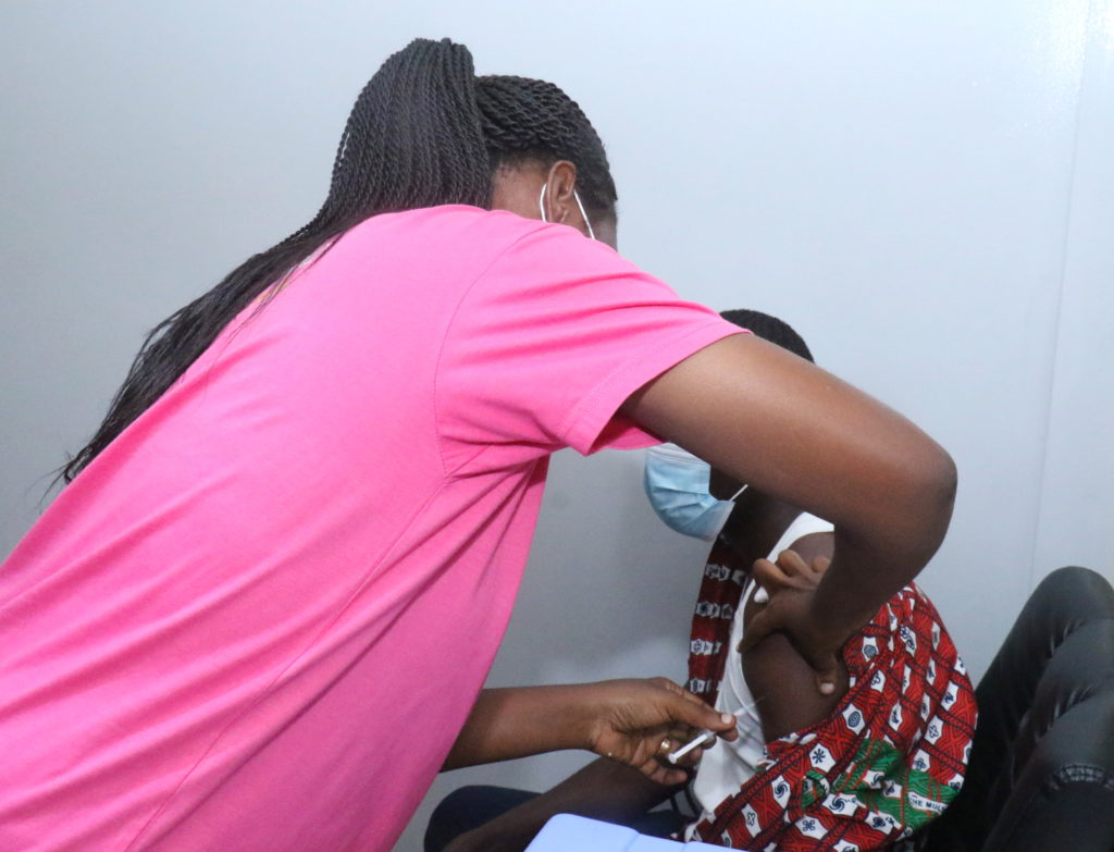 Staff of The Multimedia Group receive COVID-19 vaccine [Photos] 70