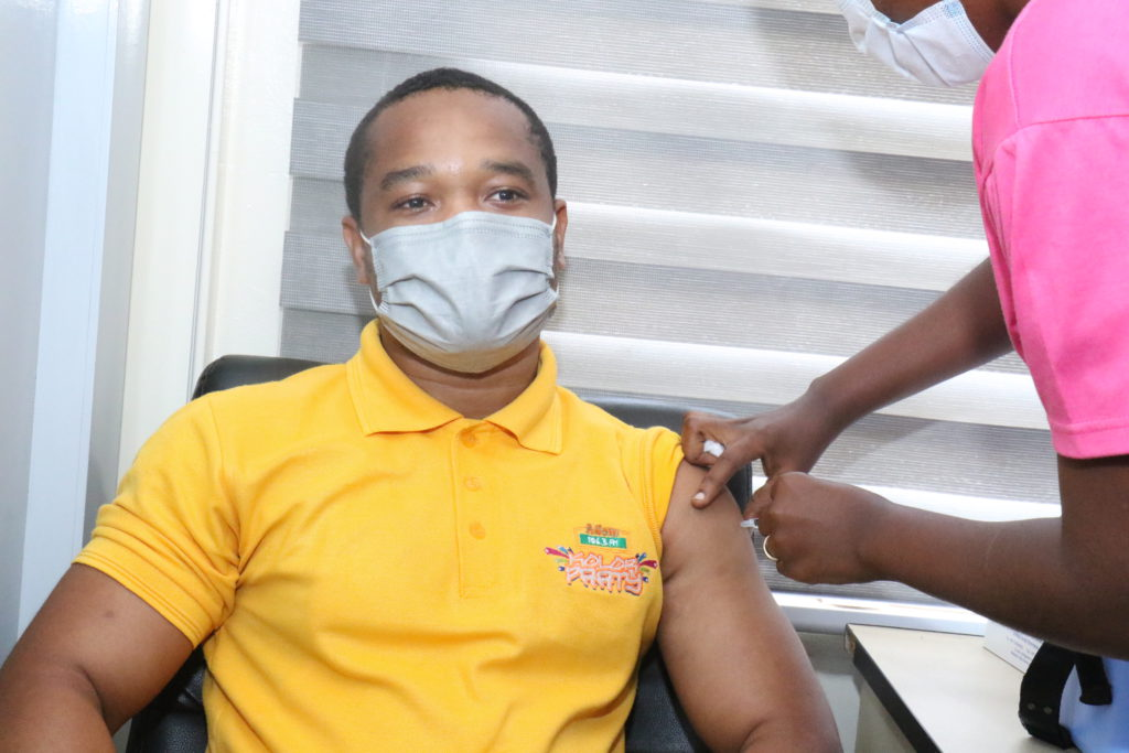 Staff of The Multimedia Group receive COVID-19 vaccine [Photos] 69