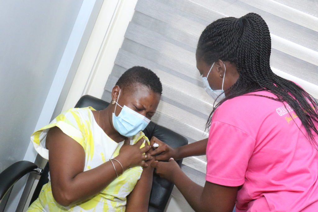 Staff of The Multimedia Group receive COVID-19 vaccine [Photos] 72