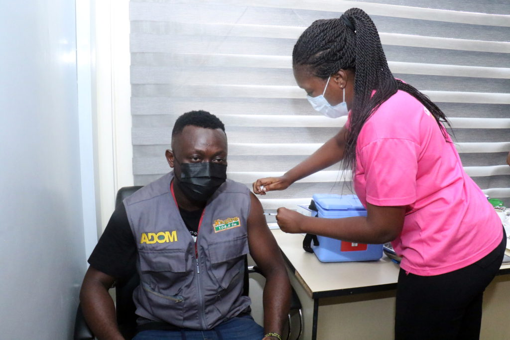 Staff of The Multimedia Group receive COVID-19 vaccine [Photos] 74