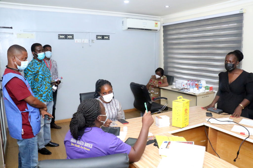 Staff of The Multimedia Group receive COVID-19 vaccine [Photos] 75