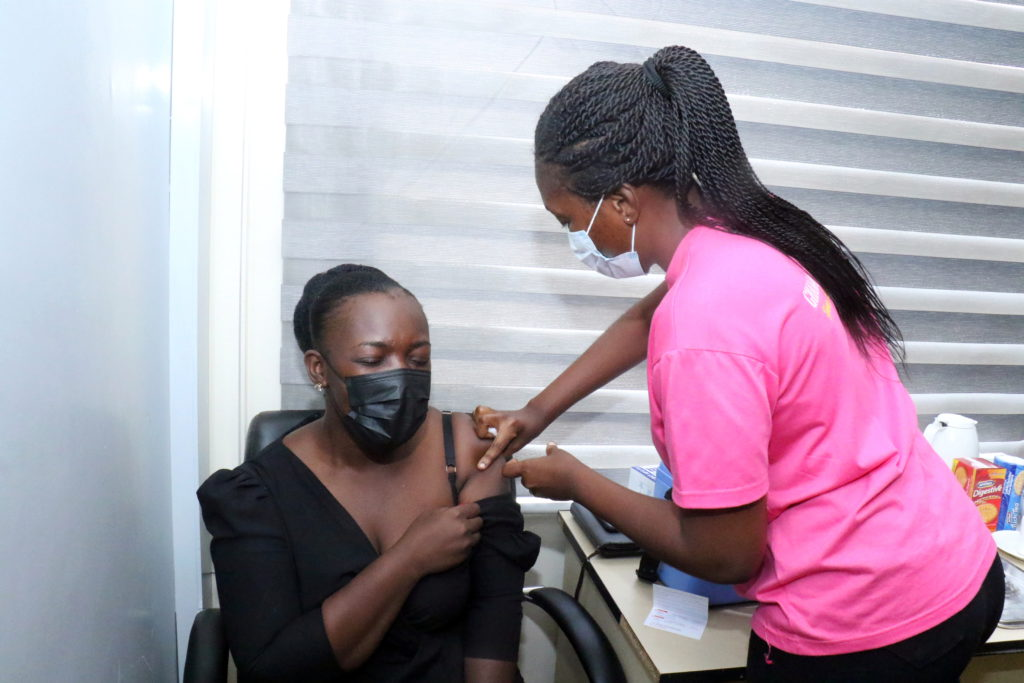Staff of The Multimedia Group receive COVID-19 vaccine [Photos] 77