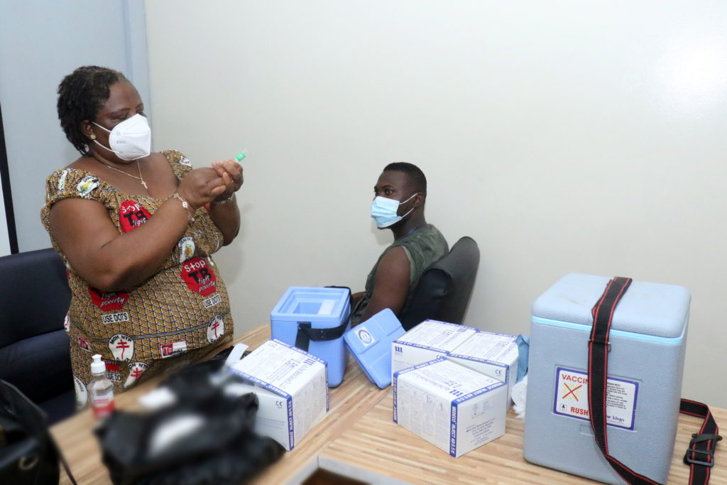 Staff of The Multimedia Group receive COVID-19 vaccine [Photos] 80