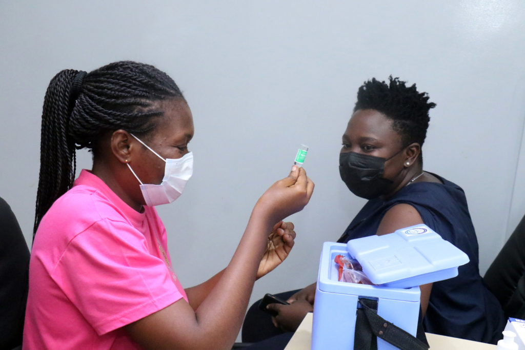 Staff of The Multimedia Group receive COVID-19 vaccine [Photos] 82
