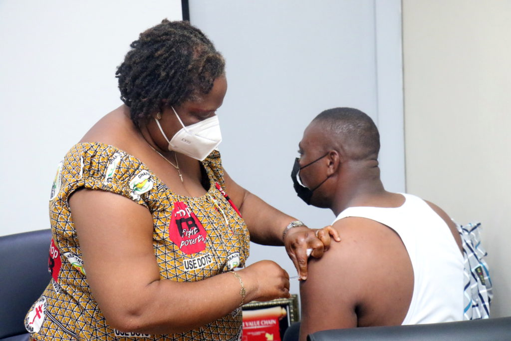 Staff of The Multimedia Group receive COVID-19 vaccine [Photos] 83