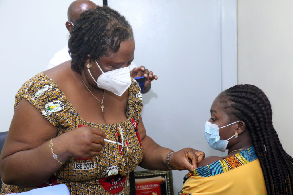 Staff of The Multimedia Group receive COVID-19 vaccine [Photos] 63