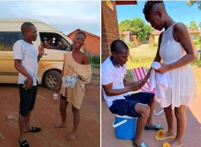 Man set to marry lady who begged him for money on the street [Photos]
