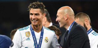 Zidane and Ronaldo