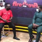 Nana Yaw Amponsah with Countryman Songo