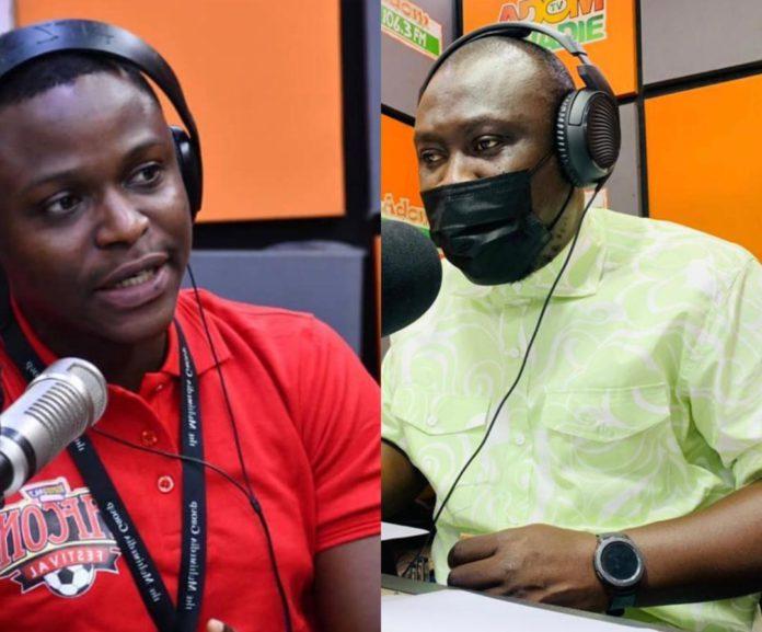L-R: Eric Asiedu Boadi aka Kegyiwa Nankasa and Kobby Stonne