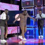Deputy General Secretary of NDC, Peter Otokunor shows off his 'Drip Carpet' dance moves