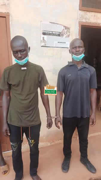 26-yr-old woman, four others arrested for attempting to steal twin babies (Two of the suspects)