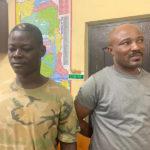 Four robbers including dismissed military officer arrested at Kasoa
