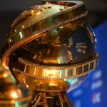 Golden Globe statues are displayed at the 73rd annual Golden Globe Awards nominations at the Beverly Hilton hotel on Thursday, Dec. 10, 2015, in Beverly Hills, Calif. The 73rd annual Golden Globe Awards will be held on Sunday, Jan. 10, 2016. (Photo by Chris Pizzello/Invision/AP)