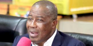 Director-General of National Lottery Authority (NLA), Kofi Osei Ameyaw
