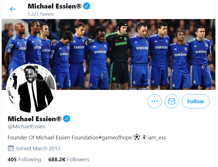 Michael Essien and LGBT+ in Ghana; loses about 1million followers