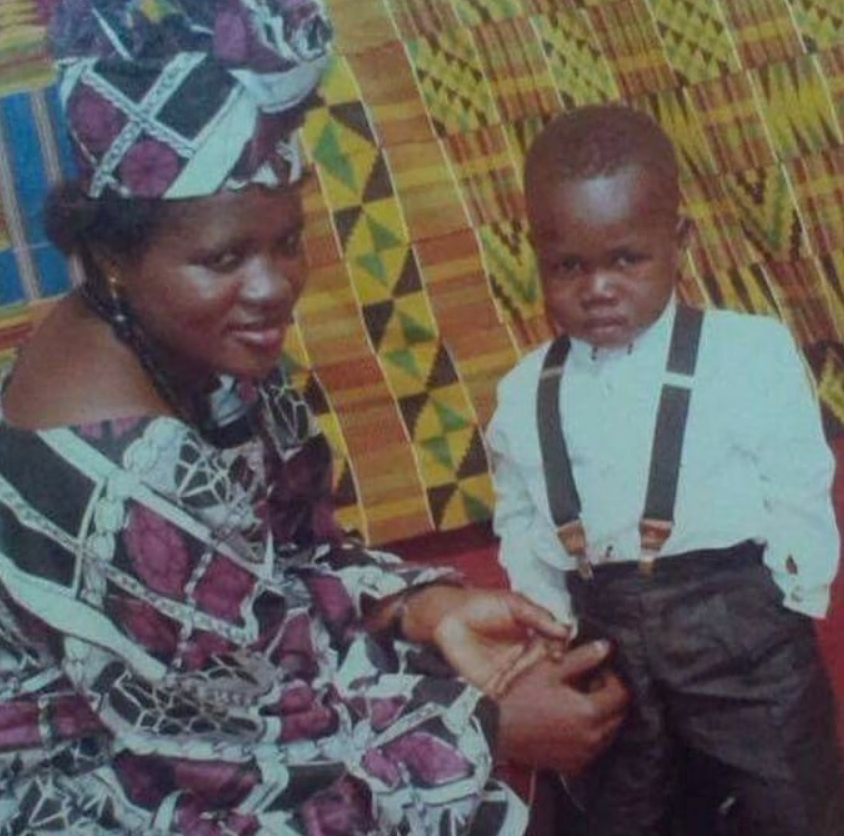 Mercy Asiedu's old photos after giving birth to her first son, Nana Safo Ababio, pops up