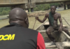 Adom TV's Kobby Stonne interviews a River Ankobra fisherman