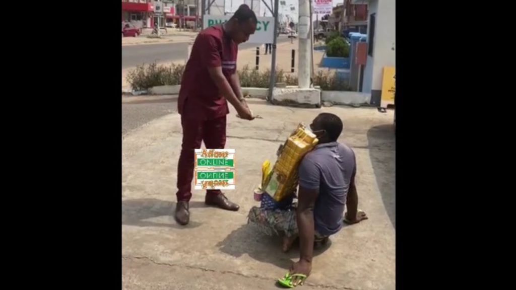 Gospel act Henry Godson-Afful surprises physically-challenged hawker [Video] 4