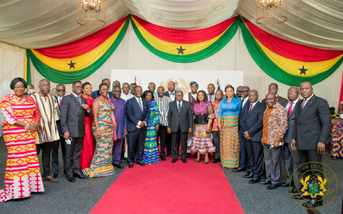 New ministers on retreat at Peduase